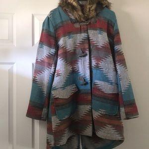 Bb Dakota tribal coat